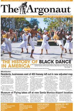 The Argonaut Front Page